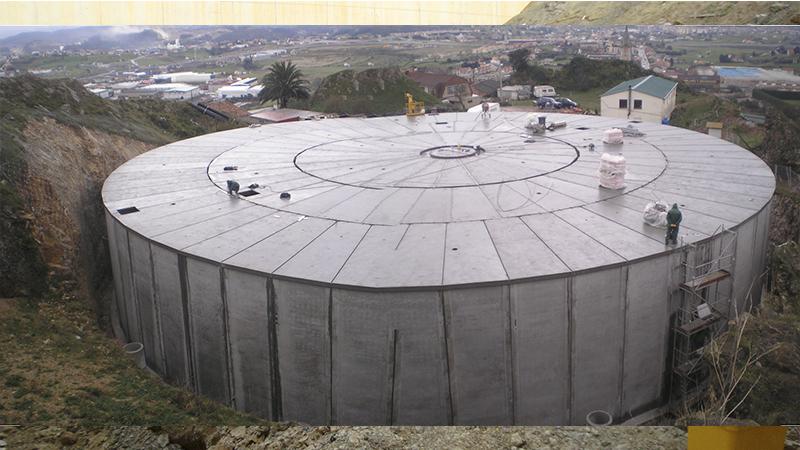 001 ATEO Construccion Deposito Penacastillo, Agua, Abastecimiento, Ciudad Santander, Estructura, Coning Oficina Ingenieria, Proyectos, Topografica e Inspeccion Tuberia