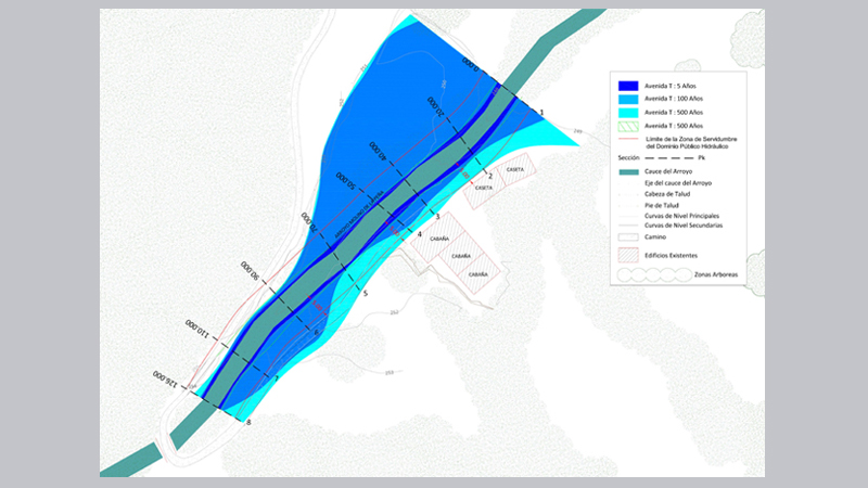002 AIEH  Plano Avenidas, Anos, Confedercion Hidrografica de Cantabria, Coning Oficina Ingenieria, Proyectos,Topografica e Inspeccion Tuberia (2)