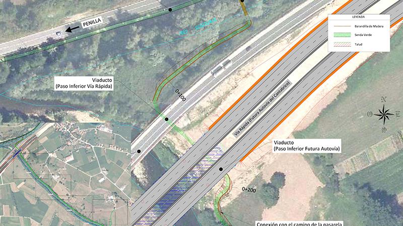 015 AIPOPlano planta, Proyecto Pasarela,Coning Oficina Tecnica Ingenieria, Proyectos, Topografica e Inspeccion de Tuberia