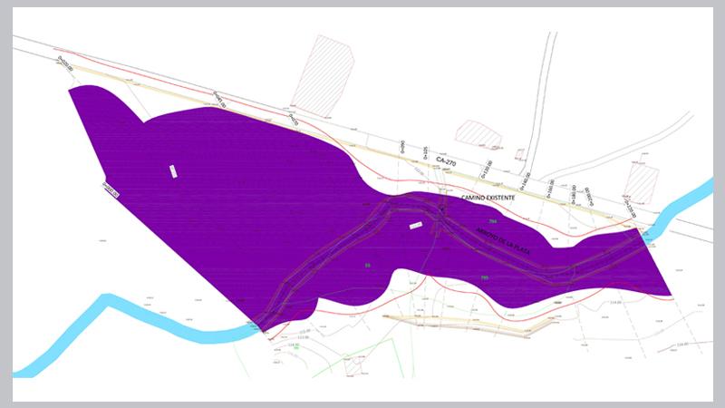 026 AIEH Inundaciones, Plano, cauce, Licencia, condederacion, estudio,Topografia, avenida, medicion, Zona de flujo preferente, dominio Publico, talud, danos graves, intenso